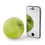 Зеркальное защитное стекло для iPhone 4/4s (2 шт)