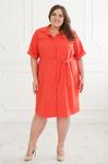 Платье рубашка 208-3,56-66рр