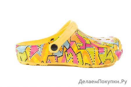 Цветные сабо для подростков Tilla