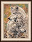 """Набор для вышивания арт.Овен - 711 """"Волчья верность"""" 30х40см"""