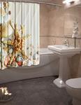 Штора для ванной Звезда