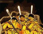 """РН GХ4568 """"Фэншуй. Золото лопатой"""" , 40х50 см Артикул827-412"""