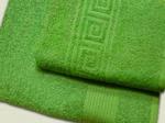 Полотенце махровое (цвет 530 - оливковый)