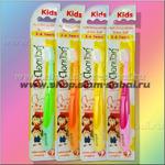 Детская зубная щетка для деток от 3 до 6 лет Твин Лотос