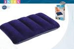 Надувная подушка туристическая Intex: 43х28х9 см.