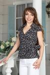 Блуза 2131б, размер 42-54