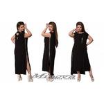 Платье молнии 915 черный