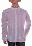 Блузка белая для девочек оптом 202-2