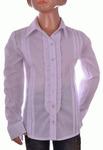 Блузка белая для девочек оптом 560-6