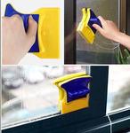 Магнитная двусторонняя щётка для мытья стекол