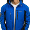 Куртка мужская softshell синяя Denley 5527