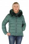 Куртка утепленная Плащевка Зеленый
