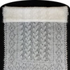 Оренбургский пуховый палантин 155х55 см (Пн423)