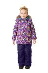 Комплект зимний: куртка и брюки Артикул TW37104 PURPLE