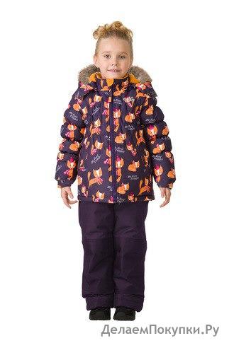 Комплект зимний: куртка и брюки Артикул TW37103 PURPLE