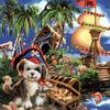 Картины по номерам 40*50 (большие), производитель Paintboy (Китай) GX 3311 Плюшевый пират