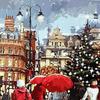 Картины по номерам 40*50 (большие), производитель Paintboy (Китай)  GX 3049 Рождественские покупки