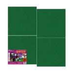 Набор листового фетра №18 зелёный