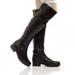 Женские кожаные сапоги (байка/экомех - на выбор)