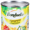 Кукуруза сладкая в зернах 12х340гр гр(БОНДЮЭЛЬ)
