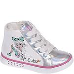 Ботинки деми для девочек INDIGO KIDS 50-346A бел/сереб