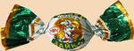 Карамель ЗАЙКА с орех. начинкой (рахат) 250 гр