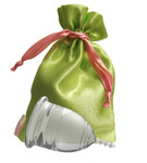 """Lilacup прозрачная (размеры S, L) в мешочке - серия """"Атлас Премиум"""" (цвет мешочка в ассортименте)"""