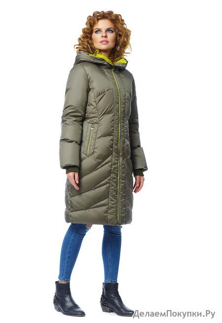 """Пальто """"Лина"""" р-р 42-60 цвета черный,белый,хаки,светлое какао,синий"""