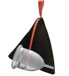 """Lilacup прозрачная (размеры S, L) в мешочке - серия """"Джинс"""""""