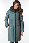 """Пальто """"Гарсия"""" р-р 42-60 цвета бирюзовый,темно коричневый,хаки"""