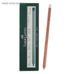 Пастель сухая художественная в карандаше Faber-Castell PITT® 101 белый, Мedium 112201