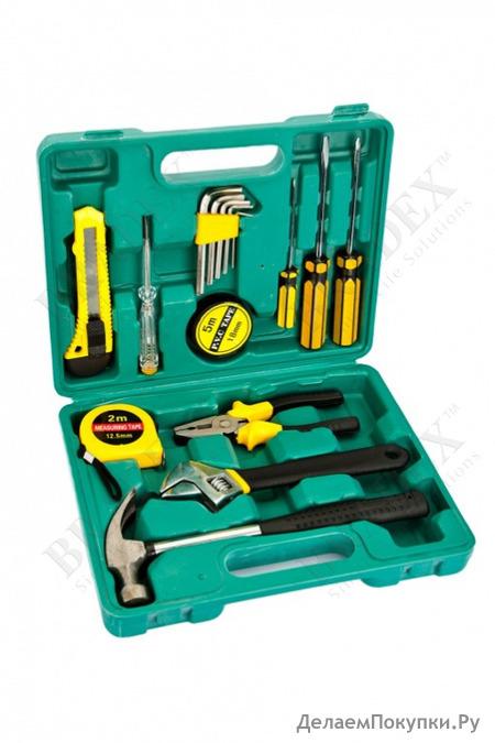 Набор инструментов из 15 предметов в кейсе 15 pieces tool kit