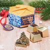 """Шоколадные конфеты в коробке с фигуркой """"Исполнения желаний в Новом году"""""""