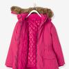 Для девочек 3-в-1 куртка с Полярной флисовой подкладкой - розовый цвет