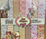 Набор бумаги для скрапбукинга ''Цени мгновение'',12л СКБ-002