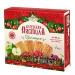 Белевская пастила яблочная «Премиум 4 вкуса», 700г (в новогодней упаковке)