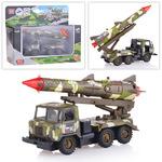 Машина Газ 66 Ракета Военные силы (свет+звук)