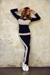 БС 46 спортивный костюм бежевый
