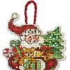 8895-DMS Санта (украшение)
