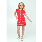 Платье для девочки 1Т15-2