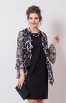 Платье/болеро 015781 (черный) 5101