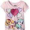 Nickelodeon Little Girls' Paw Patrol Short Sleeve T-Shirt Shirt
