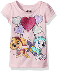 Nickelodeon Little Girls' Paw Patrol Short Sleeve T-Shirt Shirt