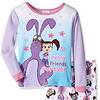 Kate and Mim Mim Toddler Girls' 2-Piece Cotton Pajama Set