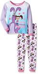 Kate and Mim Mim Toddler Girls' 2-Piece Cotton Pajama Set