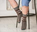 Носки шерстяные N6R159-1