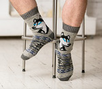 Носки шерстяные N6R165-1