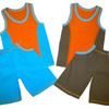 Комплект для мальчика :борцовка+шорты