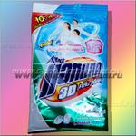Тайский стиральный порошок для белых вещей - 12 пакетов по 90 грамм