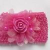 Повязка Ширина 7 см. ярко-розовая